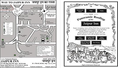 Jaipur Inn - Map & Directions